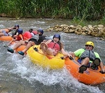 white river tubing in Ocho Rios