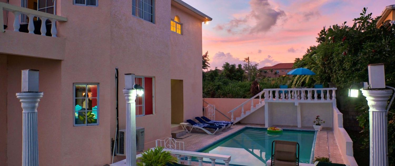Private Pool at Villa in Ocho Rios