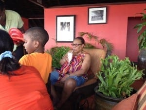 Jamaica villa extended family vacation