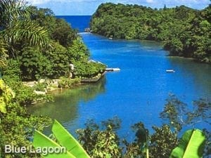 Blue Lagoon a day trip from Ocho Rios