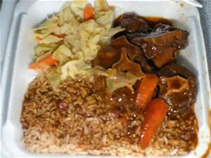 tasty Jamaican cusine