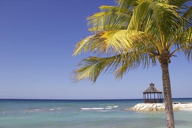 Jamaica beach Ocean