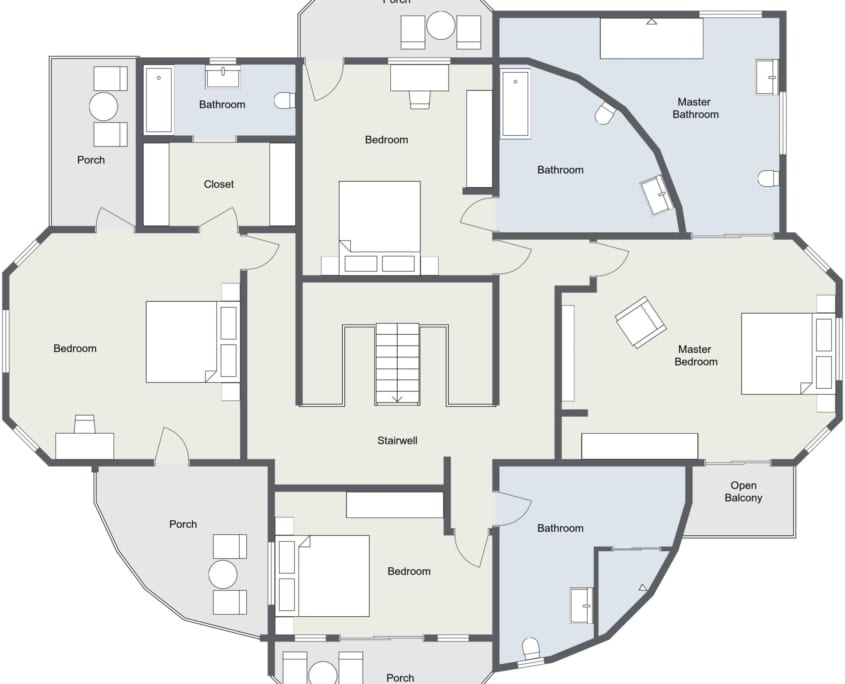 Jamaica Villa Floor Plans