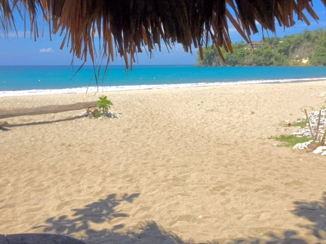 Sugar pot beach bar in Ocho Rios