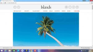 Island magazine _ ocean view