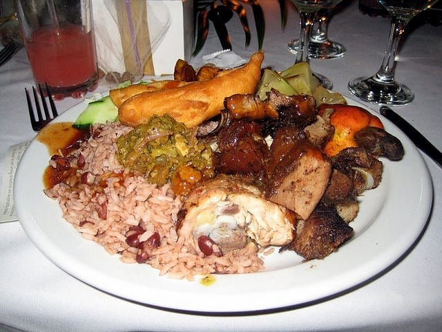 delicious Jamaican food