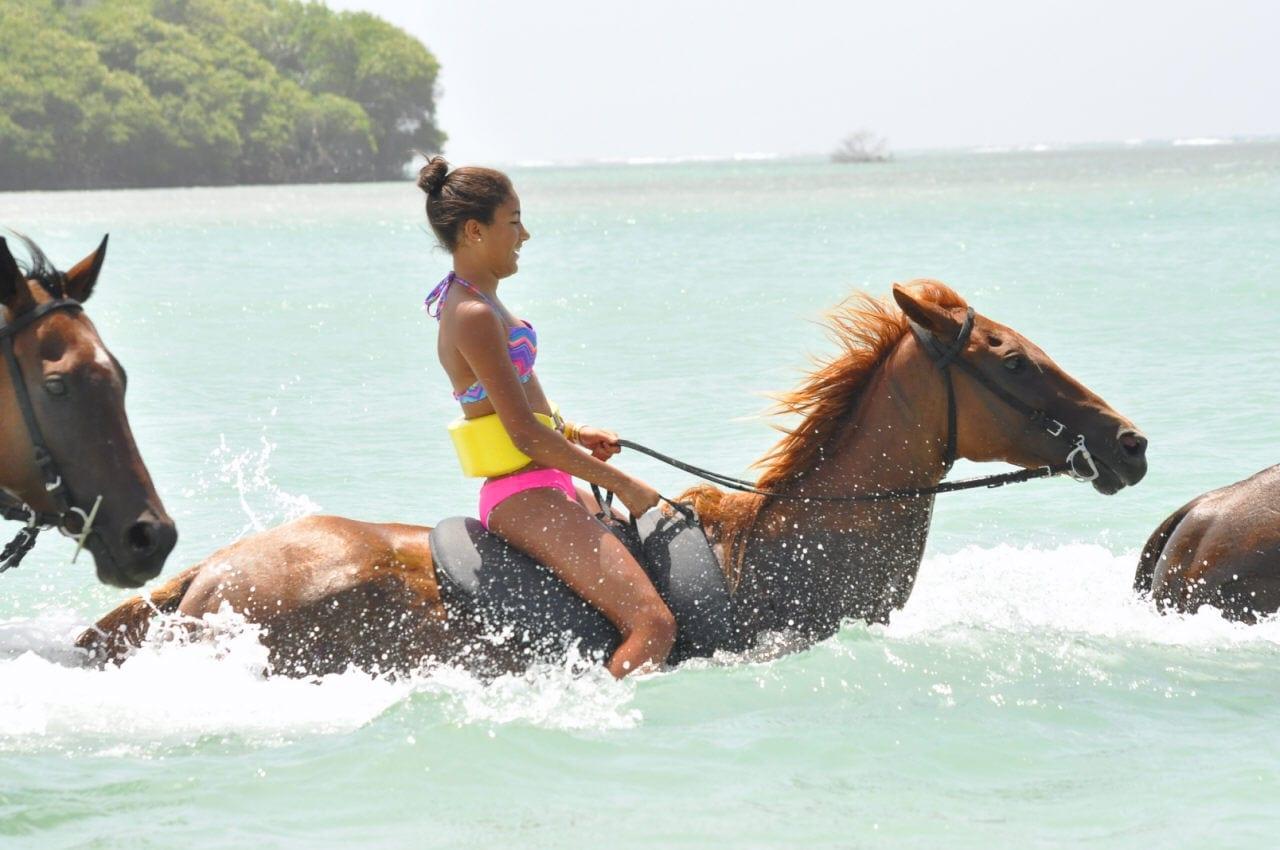 Horse back ridding in Ocho Rios Jamaica