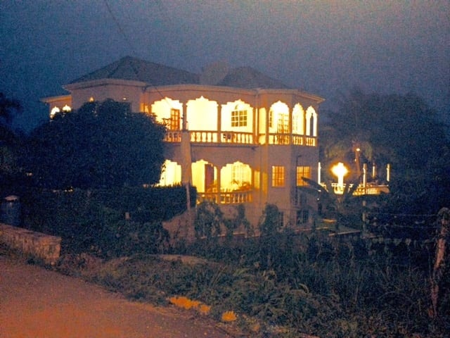 villa at night new