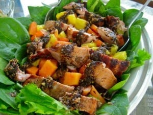 Jamaica Grilled chilcken salad