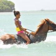 Jamaica vacation adventure in the sea