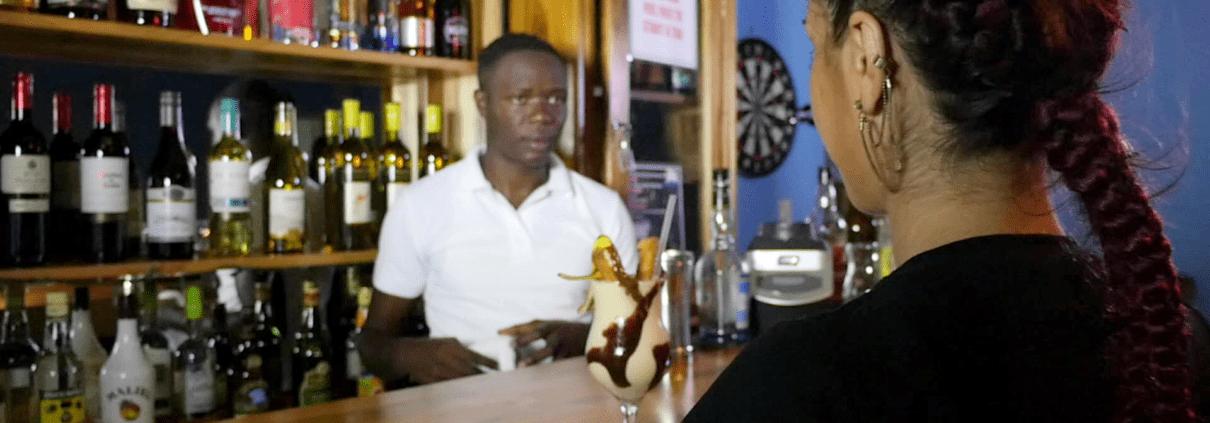 private villas in jamaica bar and full staff