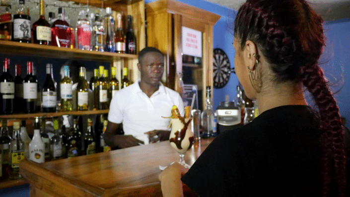 private villas in jamaica bar and full staff