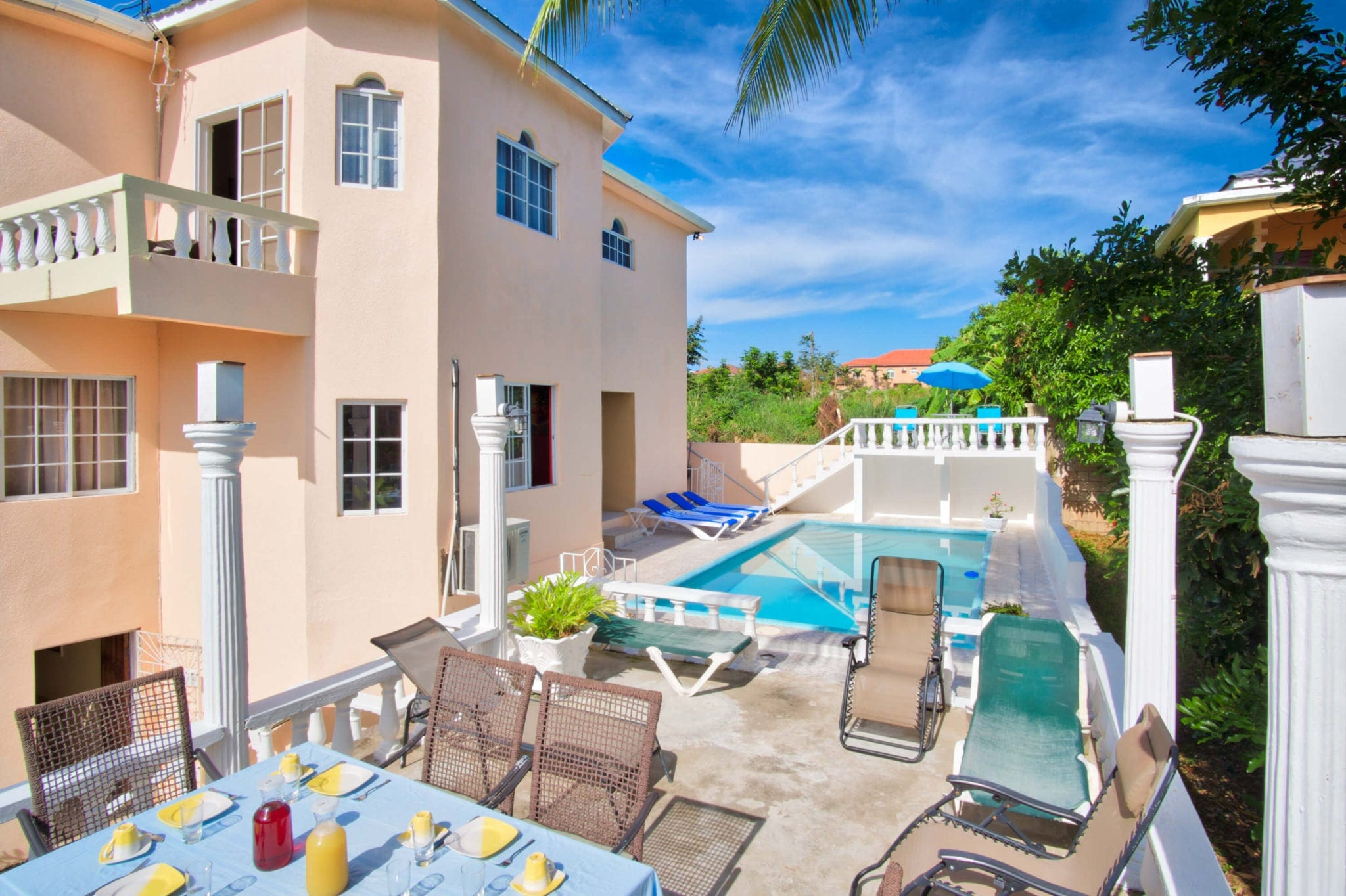 Villa Serenity Ocho Rios private pool