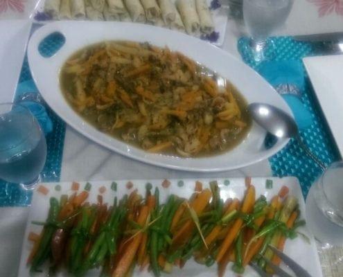 villa serenity cuisine