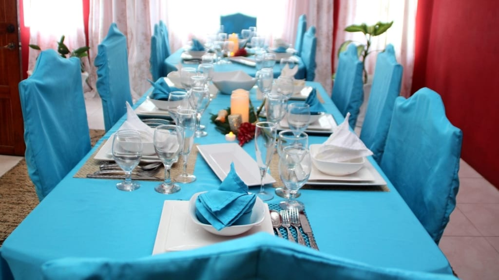 Dining in your private Ocho Rios Villa