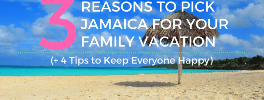 Jamaica vacation for multigenerational travel tips