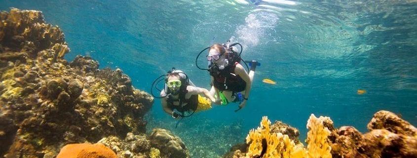 Scuba diving in Ocho Rios