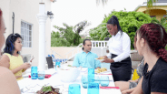 Jamaica vacation rentals villas large group dining experience