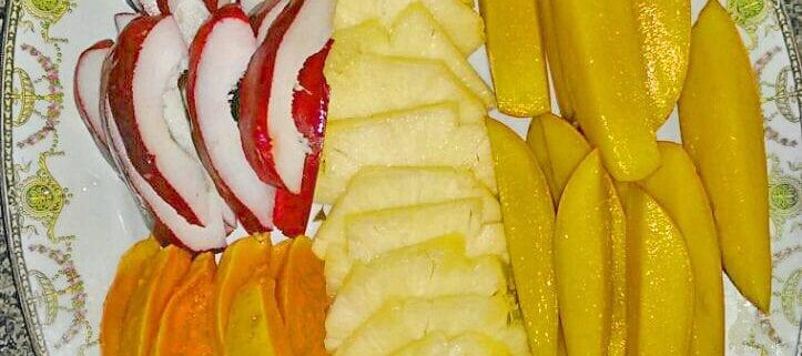 Jamaica-villa-fruit-for-breakfast