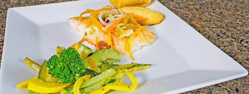 Gourmet Dining at Villa Serenity by the sea in Ocho Rios Jamaica
