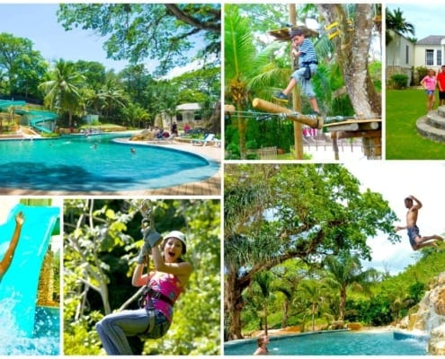 Thrill Seekers Adventure Falls in Ocho Rios