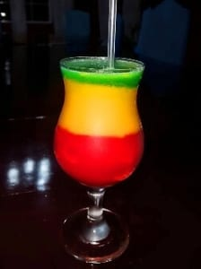Villa in Jamaica Cocktail made by your private villa bartender
