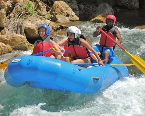 White River Rafting Ocho Rios