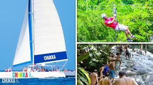 Catamaran Cruise and zipping Ocho Rios Jamaica adventures