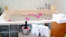 Luxury bathroom at your private villa in Ocho Rios Jamaica