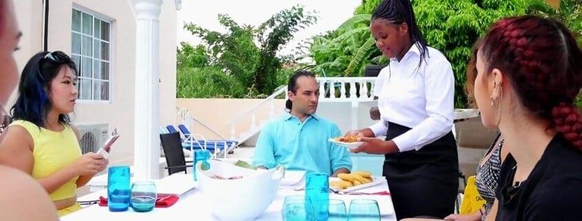 Jamaica villas in Ocho Rios with butler service