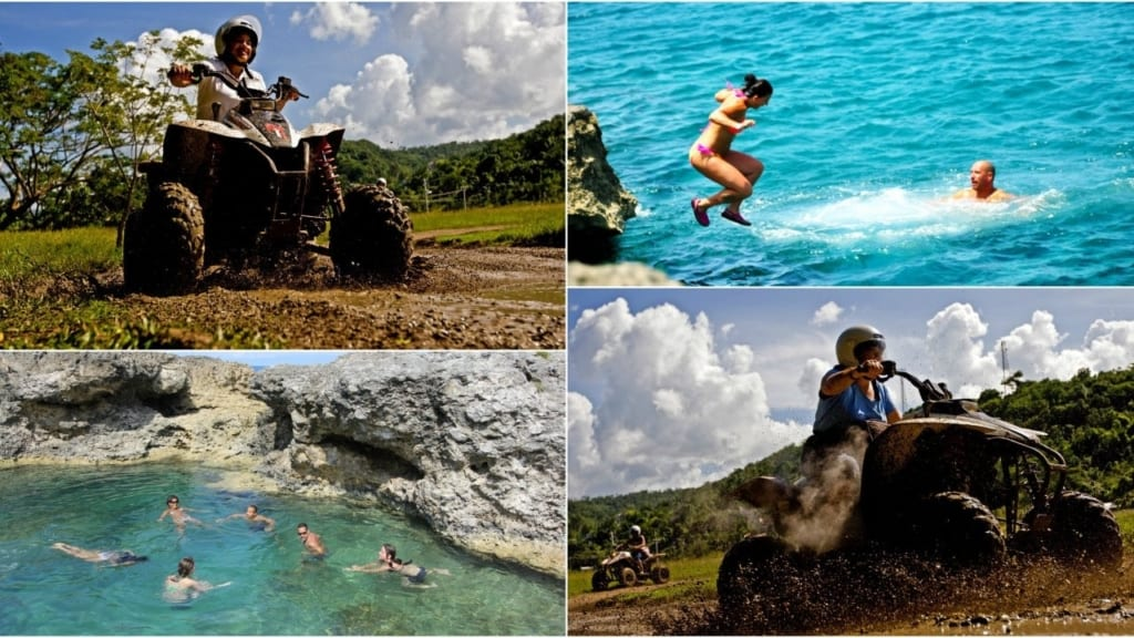 Jamaica cliff jumping adventure