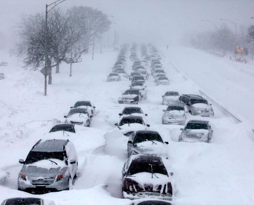 Escaped ot Jamaica to beat the winter blizzard