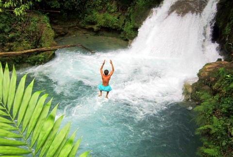 Blue holes ocho rios Jamaica