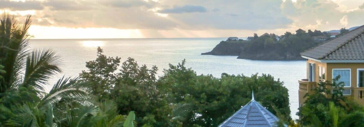 Jamaica villas views of sea
