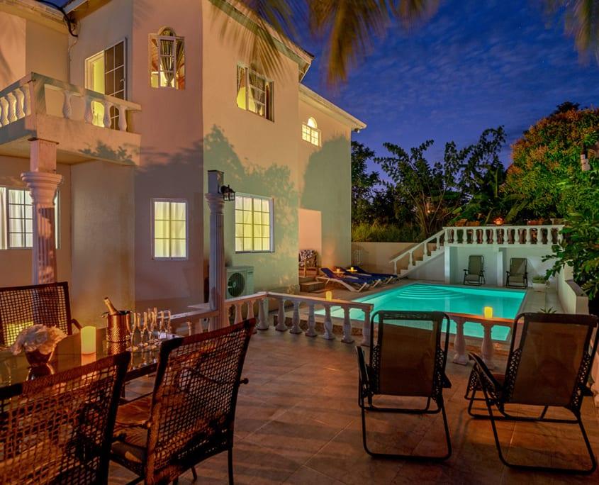 Jamaica villas private swimming pool