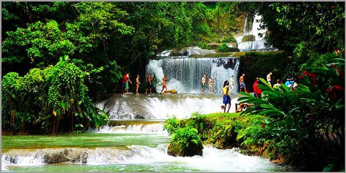 YS Falls Jamaica villas